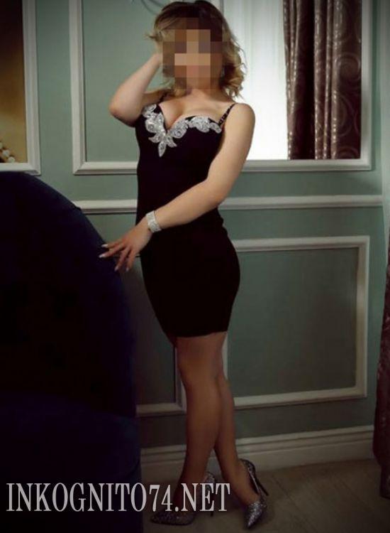 Индивидуалка проститутка Челябинска Алена №222233 - 1